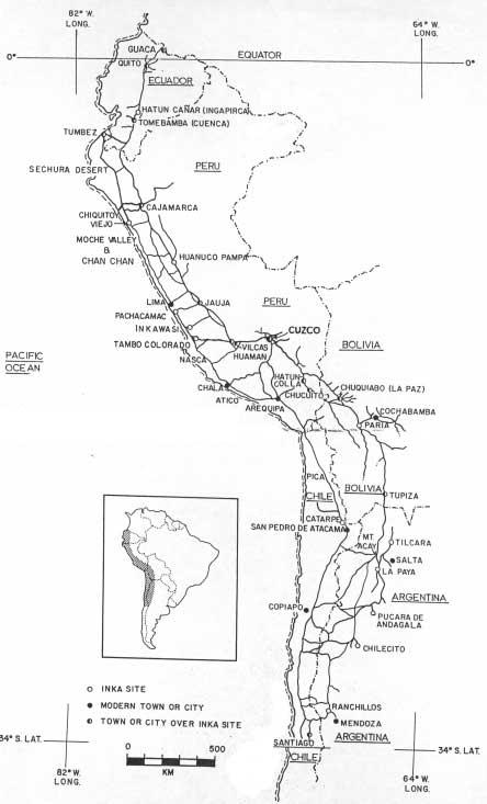 inca roads map - photo #18